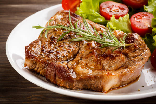 PORTERHOUSE PORK CHOPS
