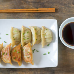 CHICKEN LEMONGRASS POTSTICKERS