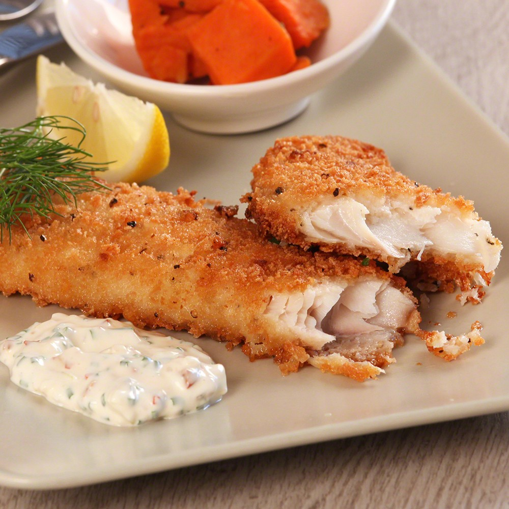 BREADED WHITING FILLETS