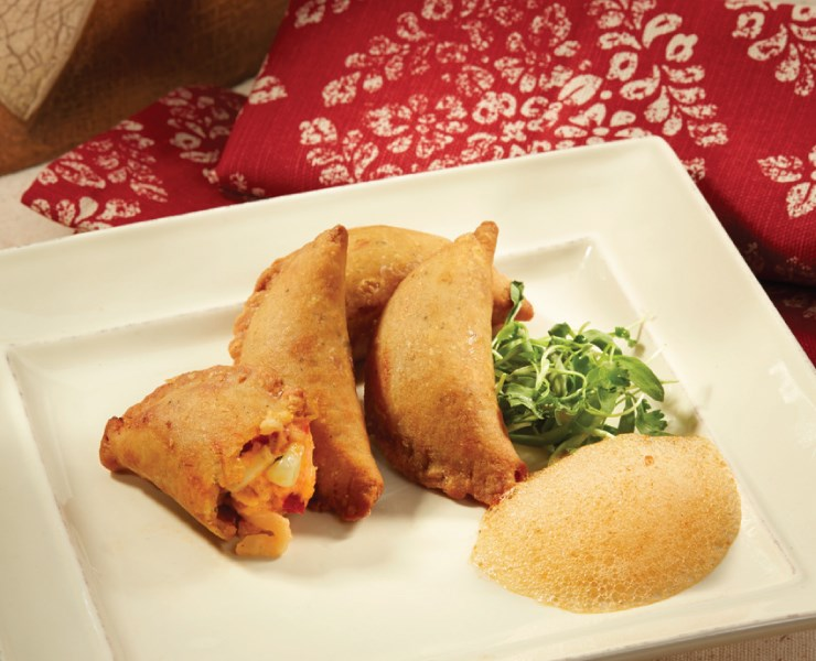 LOBSTER SWEET CORN EMPANADA