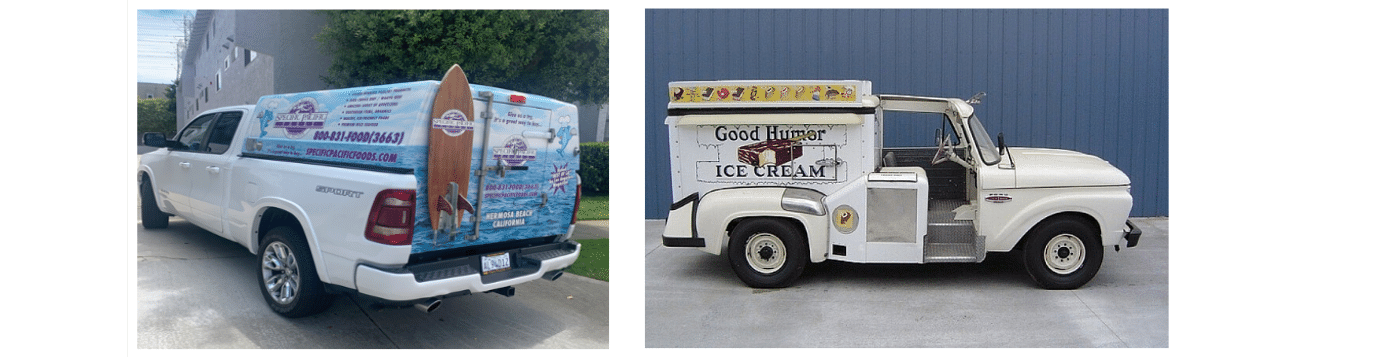 Good Humor delivery truck